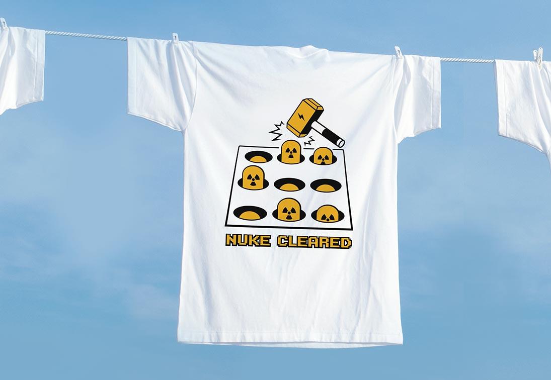 自創品牌設計T-shirt